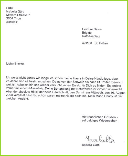 great dankesbrief muster fr gaertl with muster fr
