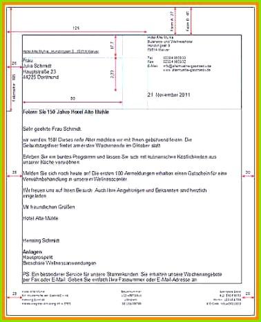Briefkopf Vorlage analysis templated analysis