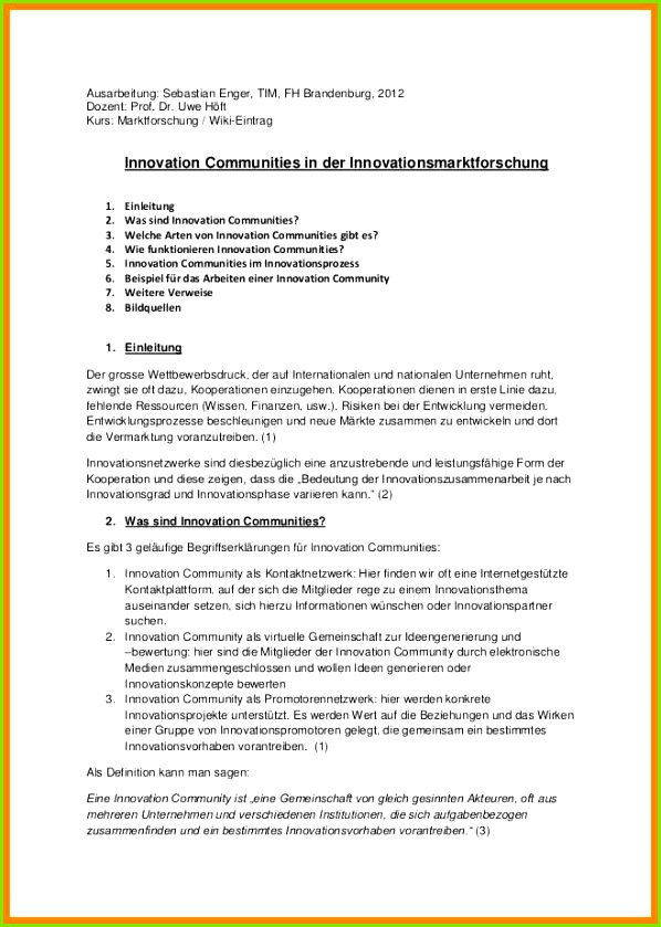 Handout Aufbau Innovation munities Handout 1 638 Cb 1