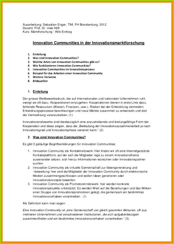 Handout Aufbau Innovation munities Handout 1 638 Cb 1