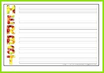 Vorlage für Akrostichon 7 pdf
