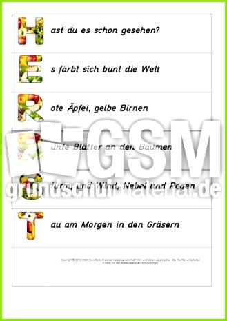 Faltformen Herbst Akrostichons 1 9 pdf