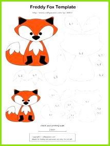 fox key ring tutorial and free pattern Animal Templates Felt Templates Applique