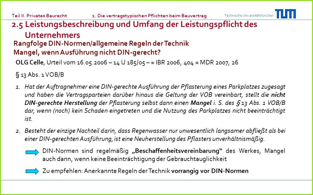 Rangfolge DIN Normen allgemeine Regeln der Technik