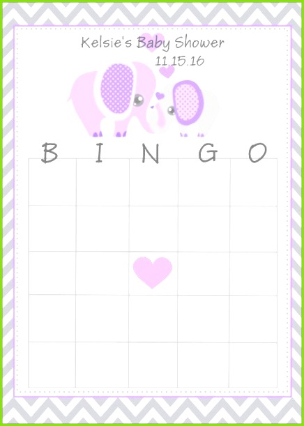 Baby Bingo Blank Template Awesome Inspirational Newborn Baby Card Template Bingo Template 0d