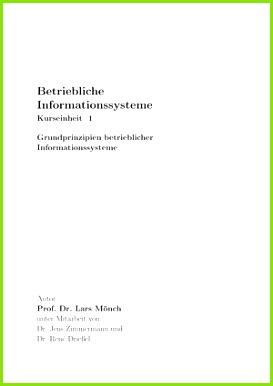 Pflichtaufgaben Aufgaben Kurseinheit 1 7 Betriebliche Informationssysteme StuDocu