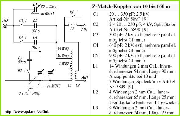 RF Circuit Design Ideas 500kHz 30MHz Ant Tuner