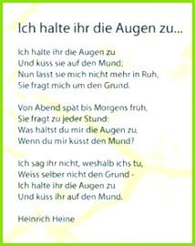 Heinrich Heine Augen Heinrich Heine Gedichte Gedichte Zum Advent Bücher Bilder Lyrik