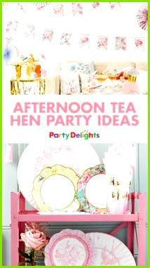 Afternoon Tea Hen Party Ideas