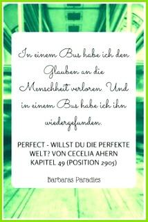 Buchrezension 109 Perfect Willst du perfekte Welt von Cecelia Ahern