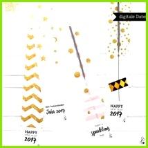 Bastelanleitung Wunderkerzen Etiketten Label PRINTABLE PDF ein Designerstück von sppiy bei DaWanda