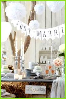 Hochzeitsdeko Tischdeko Bastelideen & Co zur Hochzeit