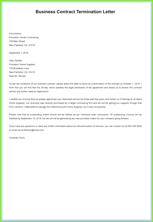 Agreement Letter Sample Lovely Separation Agreement Sample Lovely 0d simple contract template