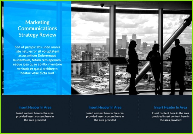 business powerpoint template 2