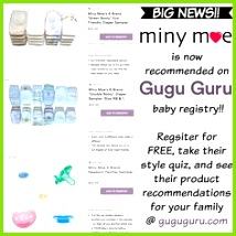 Miny Moe s multibrand variety packs are now re mended on guguguru s babyregistry