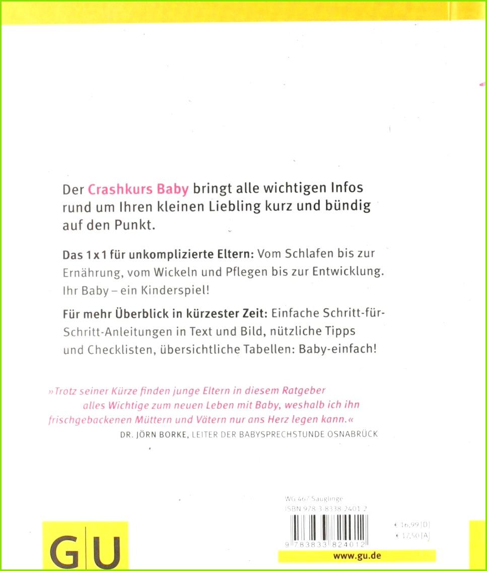 Crashkurs Baby Anleitung für Ungeübte garantiert ohne Schnickschnack Amazon Nora Imlau Bücher