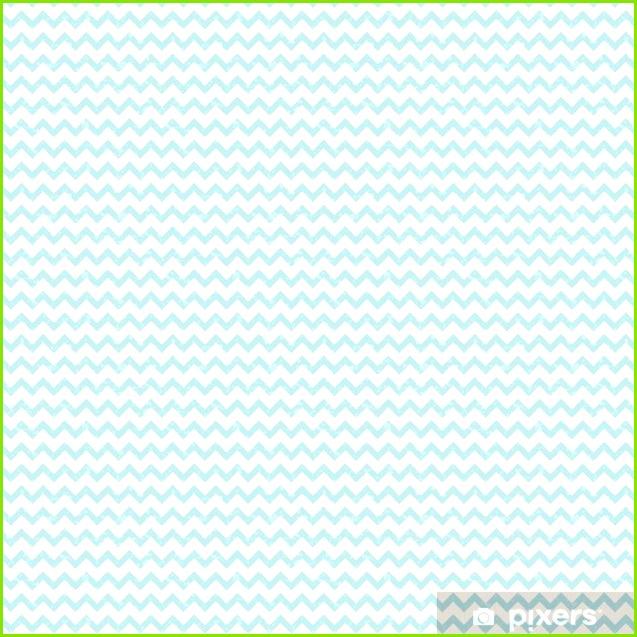 Tapete Nahtlose Pastell blau Chevron Muster