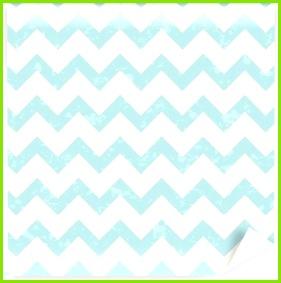 Abwaschbare Fototapete Nahtlose Pastell blau Chevron Muster