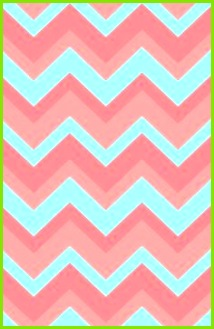 Chevron pattern light pink and blue Art Print iPhone wallpaper
