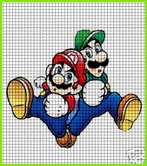 Mario Brothers Crochet Pattern