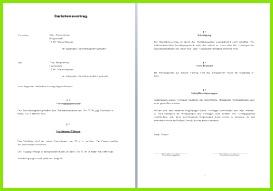 Darlehensvertrag einfach zweiseitig im Word Format