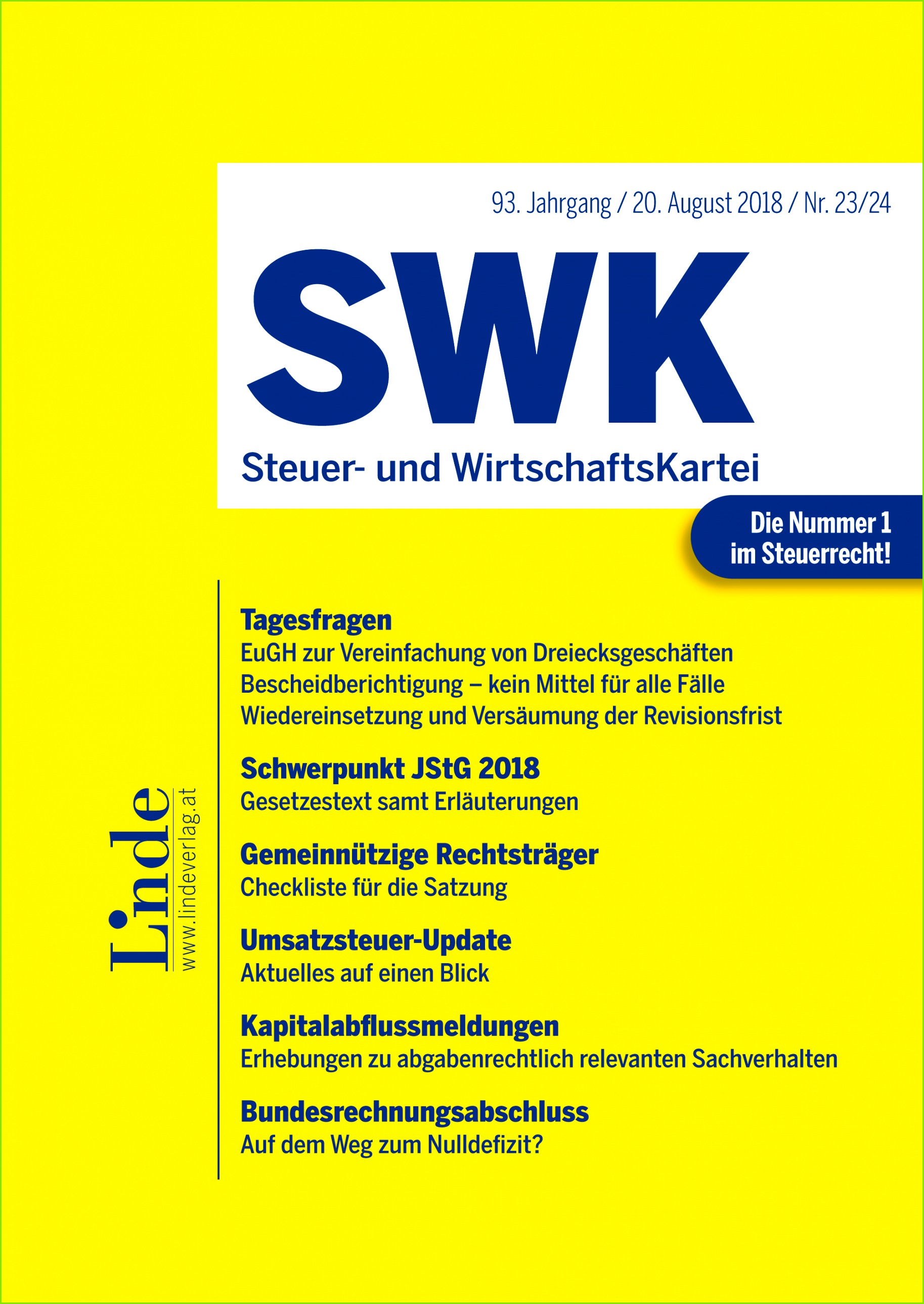 SWK Heft Nr 23 24 2018 · Tagesfragen