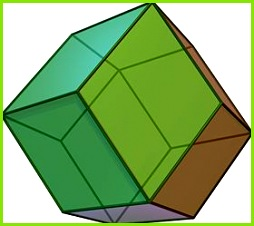 Rhombic dodecahedron Rhombicdodecahedron