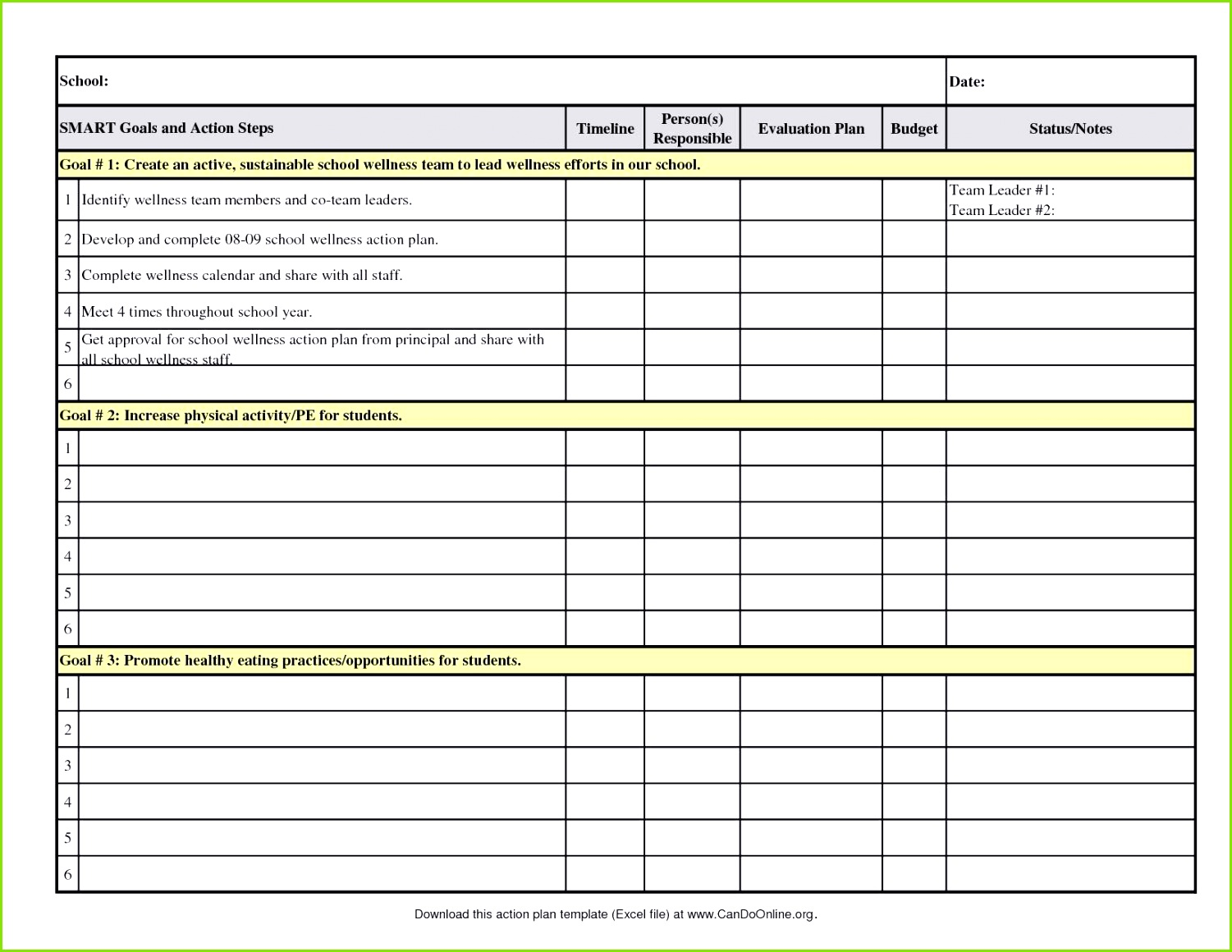 Excel Sales Pipeline Template or Performance Improvement Plan Templates Examples Template How to