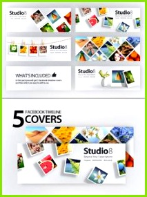 Creative Timeline Covers webdesign SocialMedia marketing socialtemplate WebTemplate template Template Design