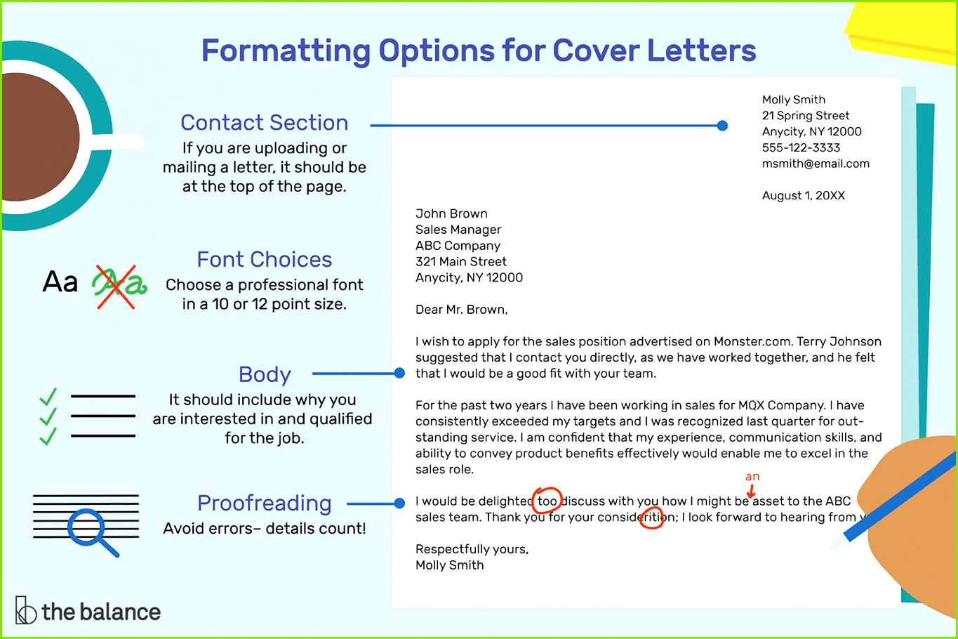 The Easiest Way to Format a Cover Letter