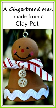 A Gingerbread Man From A Clay Pot