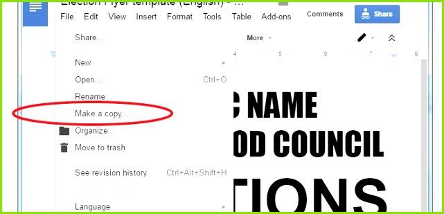 Google Docs Flyer Template New Lovely Google Docs form Templates Google forms Election Template