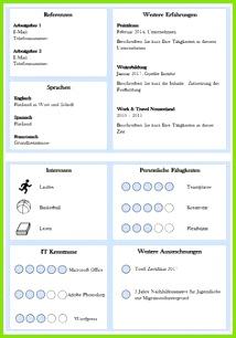 """Moderne Lebensläufe Vorlage """"Perfect Candidate V2"""" als Download"""