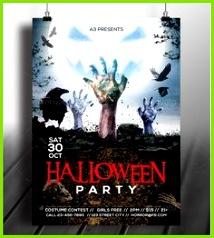 25 Beautiful Halloween Flyer Templates