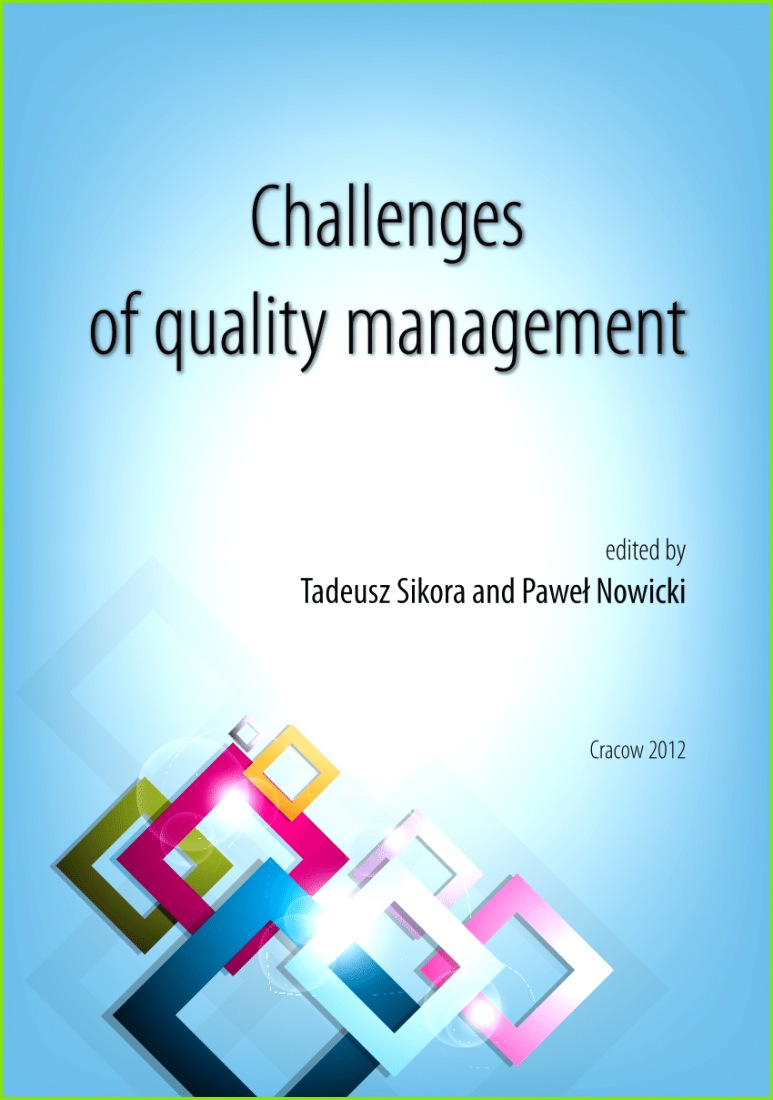 PDF Challenges of quality management