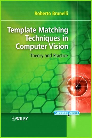 Template Matching Techniques in puter Vision Theory and Practice Book by Roberto Brunelli Hardcover
