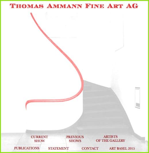 Thomas Ammann Fine Art AG Zurich