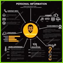 Infografiken Lebenslaufvorlage Vorlagen Illustration Lebenslauf Layout Lehrplan Infographik