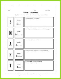 Intelligente Zielvorlage 48 Vorlagenvorlagen Beispiele und Arbeitsblätter für SMART Ziele Von templatelab