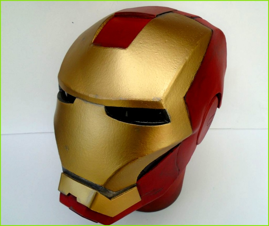 Picture of Build an Iron Man Helmet for Cheap