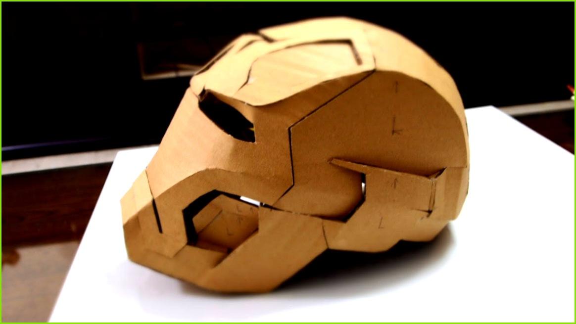 28 Iron Man Mark 42 Helmet Part 2 Jaw Top Back & Ears