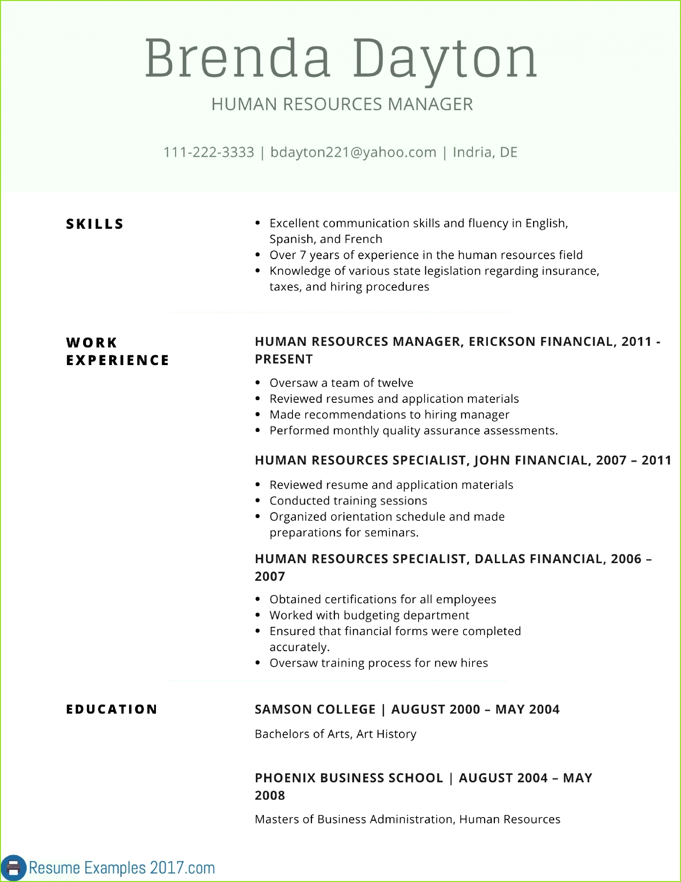 Resume Template Business Manager Valid Receipt Book Walgreens Examples Sales Job Resumes Bsw Resume 0d