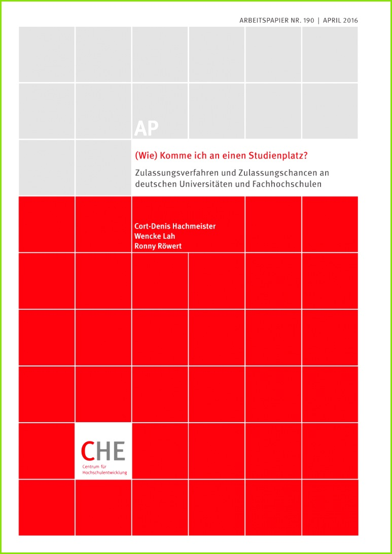 PDF Wie Komme ich an einen Stu nplatz Zulassungsverfahren und Zulassungschancen an deutschen Universitäten und Fachhochschulen