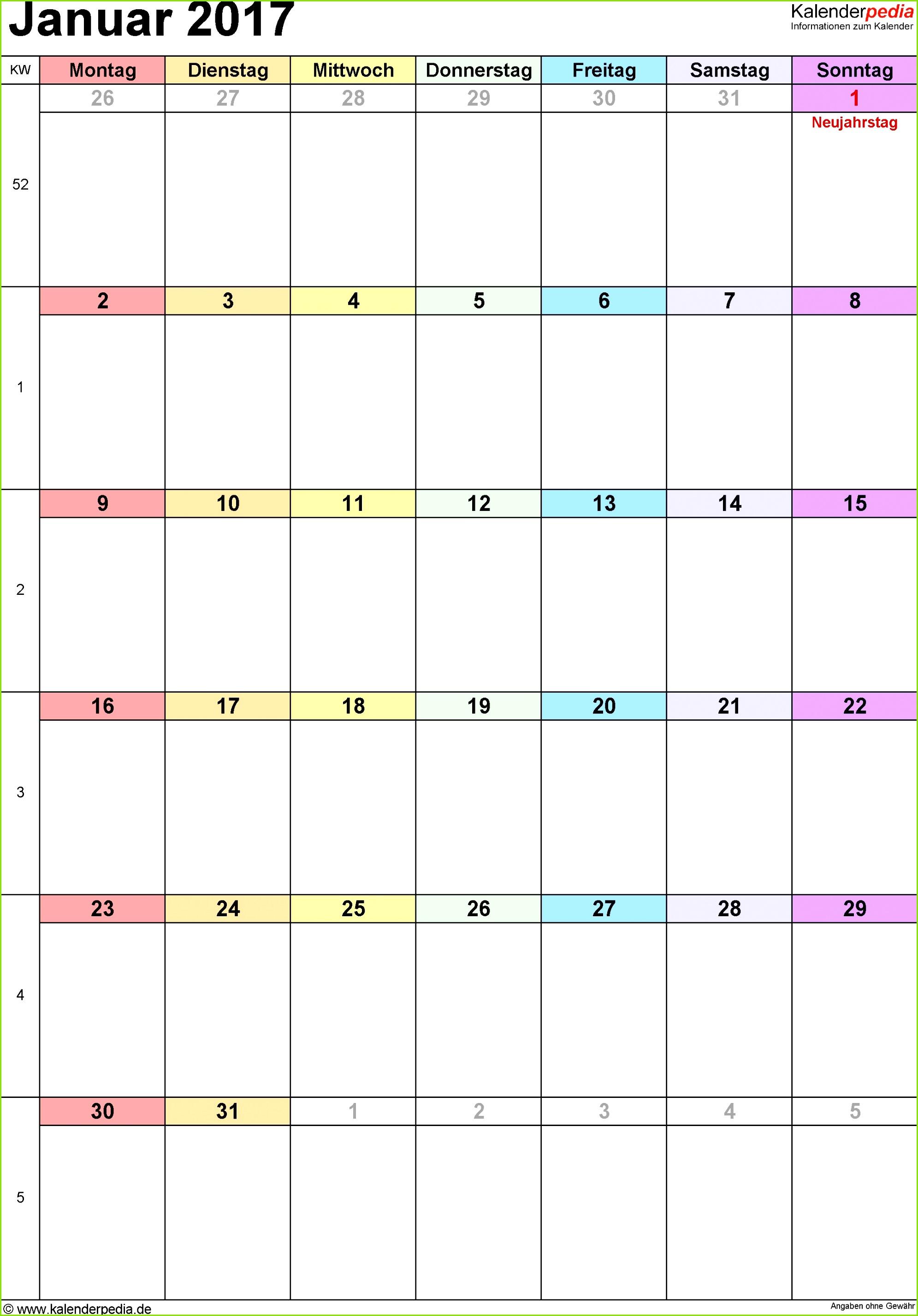 Kalender Ohne Wochentage Luxus Gemütlich Wochenkalender Word Vorlage mit Kalender Ohne Wochentage