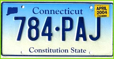 Kennzeichen aus Connecticut