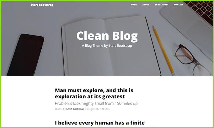 Free Bootstrap Blog Theme Start Bootstrap