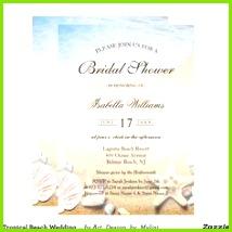 Tropical Beach Wedding Starfish Bridal Shower Invitation SommerhochzeitseinladungenVerlobungsfeier EinladungenProbenabendesseneinladungenSchöne