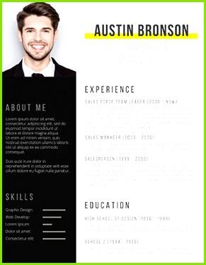 Contrast Resume