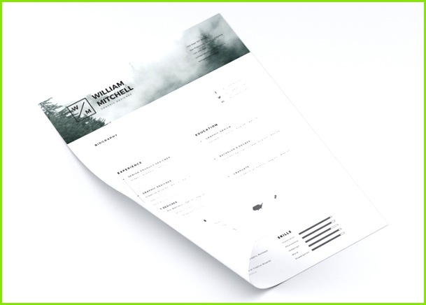 Free Minimalist & Clean Resume Template