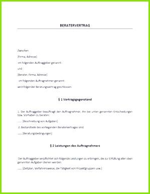 Großzügig Beratungsvertragsvorlage Kostenlos Zeitgenössisch Ungewöhnlich Beratervertrag Vorlage Frei Bilder Beispiel – Beratungsvertrag Muster